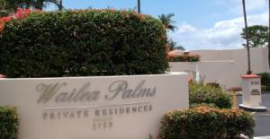 Wailea Palms Video Camera Installation