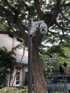KKV pole mounted cameras
