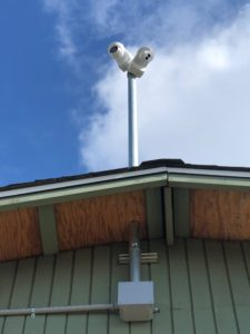 Professional pole-mounted cameras with zoom